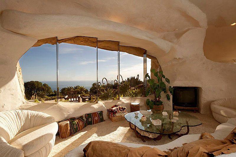 Flintstones House Living Room