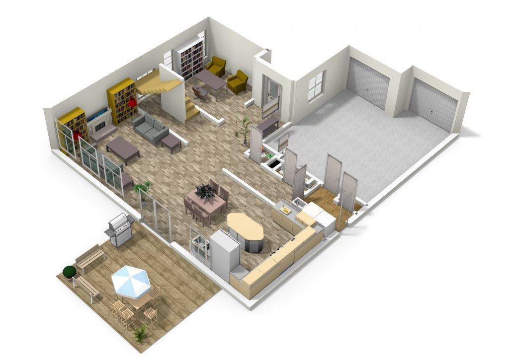 Jim Allen 3d floor plan