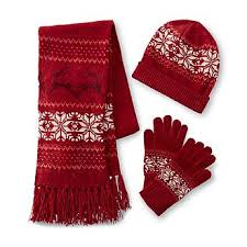 Scarf and Gloves